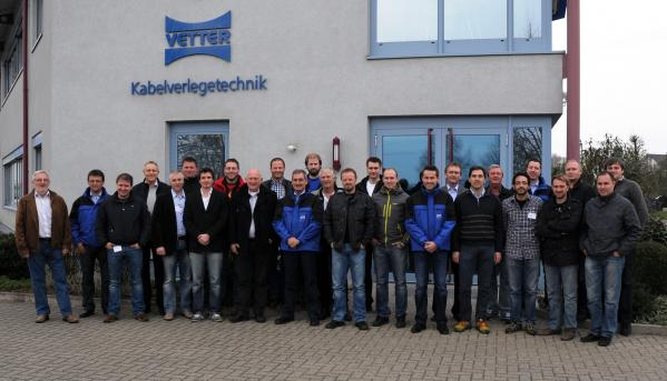 ATS Cable Laying Equipment Seminar - Vetter Germany 2012